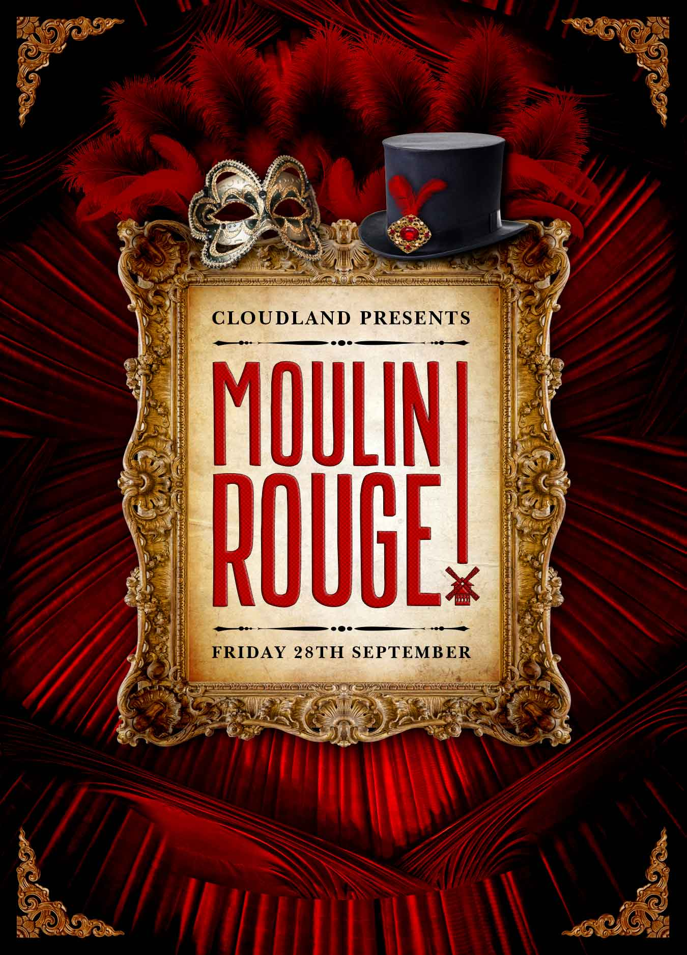 Cloudland Moulin Rouge Party