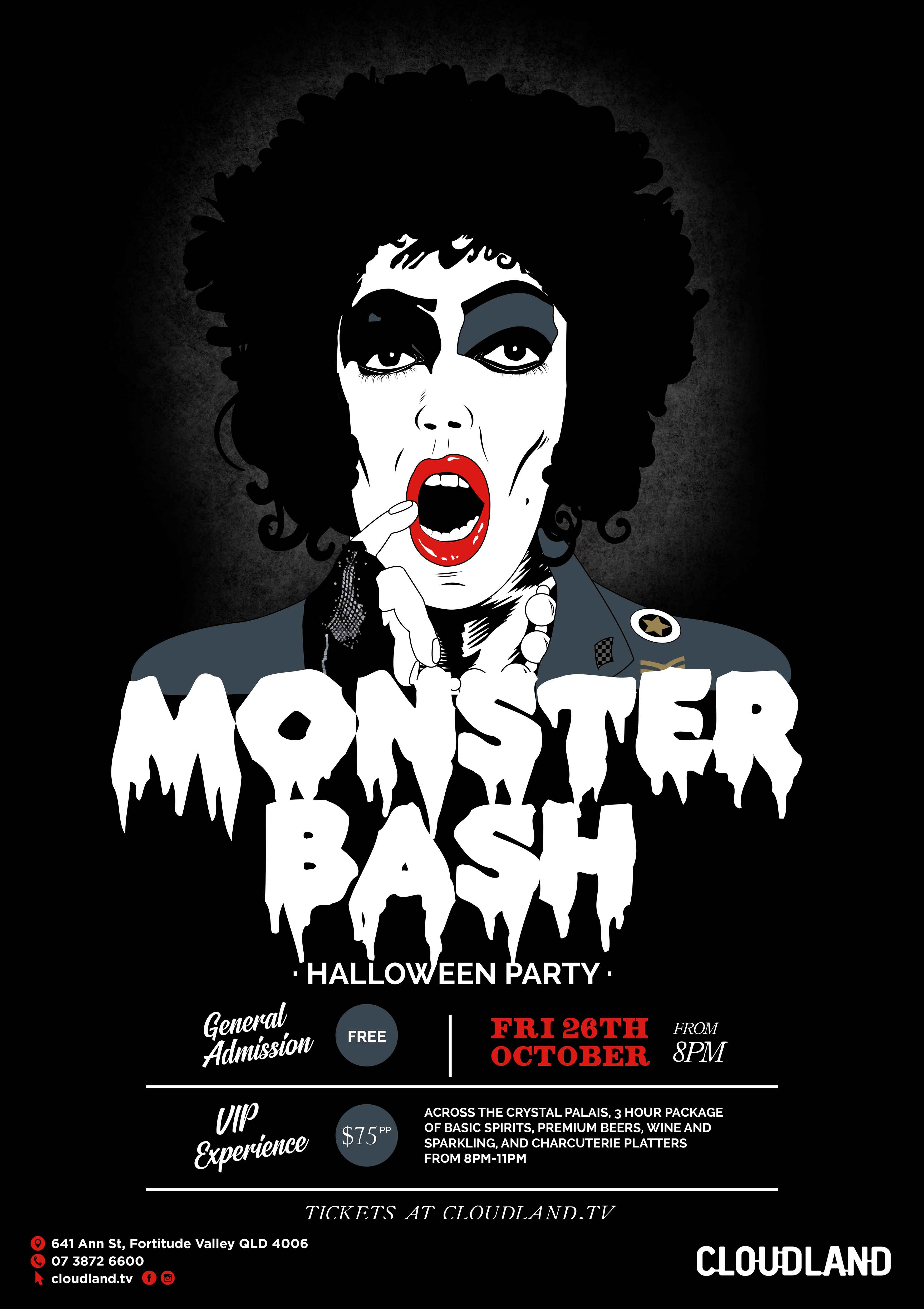 Cloudland Monster Bash, Halloween Party